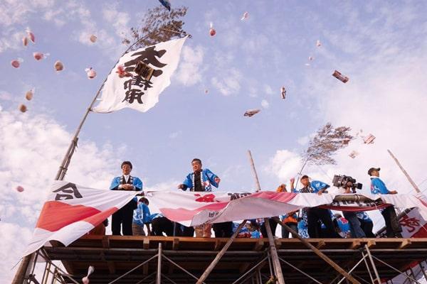 おんべ鯛奉納祭